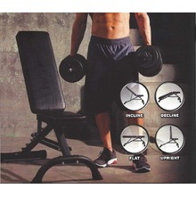 IRON GYM ™ IRON BENCH™ klupa